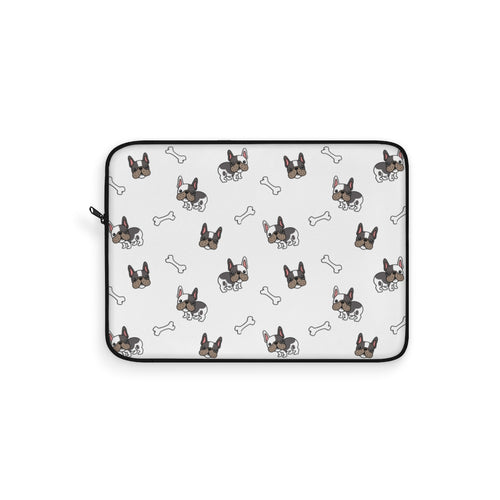 French Bulldog Pug Boston Terrier Laptop Sleeve