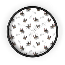 Load image into Gallery viewer, French Bulldog Wall Clock