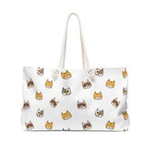 Cute Cats Weekender Bag
