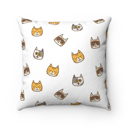 Cute Cats Pillow Cover Case