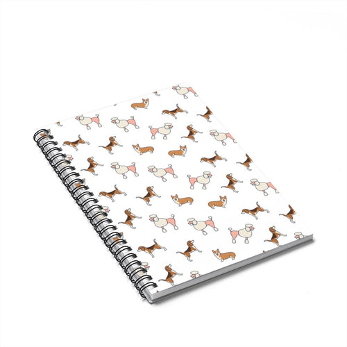Cute Dogs Spiral Notebook