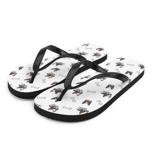 French Bulldog Pug Flip-Flop Sandals