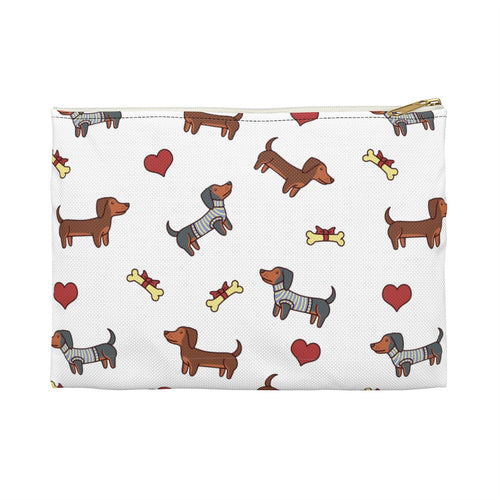 Adorable Doxie Dachshund Accessory Pouch