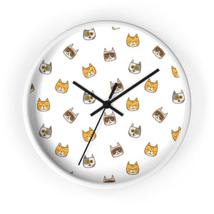 Cute Cats Wall clock
