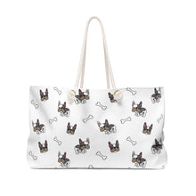 Load image into Gallery viewer, Frenchie Pug Weekender Bag