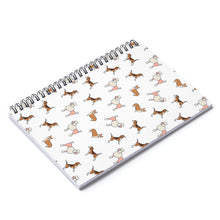 Load image into Gallery viewer, Cute Dogs Spiral Notebook w Ruled Line