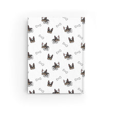 Load image into Gallery viewer, French Bulldog Pug Hardcover Notebook Journal