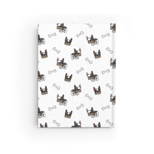 French Bulldog Pug Hardcover Notebook Journal
