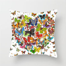 Load image into Gallery viewer, Butterfly Pillow Covers for Sofa