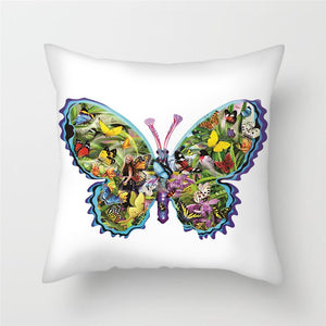 Butterfly Pillow Covers for Sofa, Chairs and Home Decoration