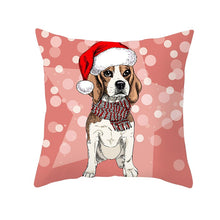 Load image into Gallery viewer, Christmas Dog Cat Cushion Covers Pillow Covers for Home Decoration