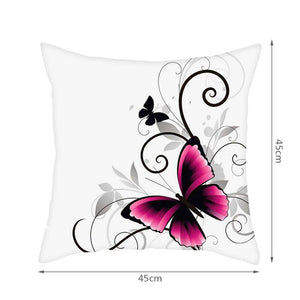 Butterfly Pillow Covers for Sofa
