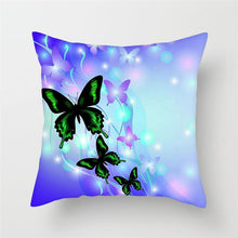Load image into Gallery viewer, Butterfly Pillow Covers for Sofa, Chairs and Home Decoration