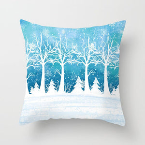Winter Forest Pillow Cover