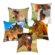 Load image into Gallery viewer, Horse Pillow Covers For Home Decoration