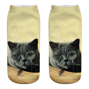 Unisex, Cute and Funny Cat Socks