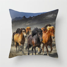 Load image into Gallery viewer, Horse Pillow Covers For Home, Chair and Sofa Decorations