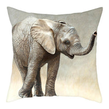 Load image into Gallery viewer, Elephant Cushion Cover, Pillow Cases for Home Decoration