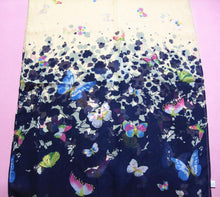 Load image into Gallery viewer, Women's Beautiful Butterfly Printed Flower Chiffon Scarf