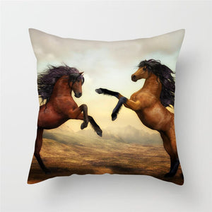 Horse Pillow Covers For Home