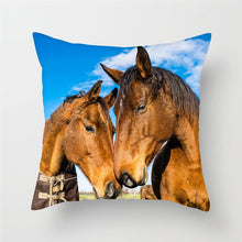 Load image into Gallery viewer, Horse Pillow Covers For Home