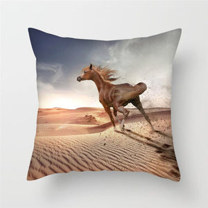Horse Pillow Covers For Home, Chair and Sofa Decorations