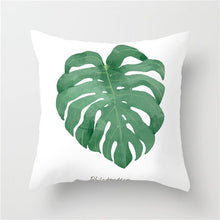 Load image into Gallery viewer, Beautiful Nature Leaf Flower Plant Pillow Cover for Home Decoration