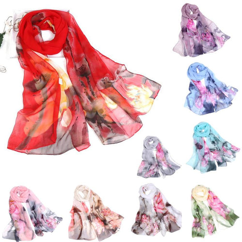Beautiful Women's Scarves with Different Designs
