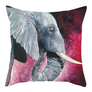 Elephant Cushion Cover, Pillow Cases for Home Decoration