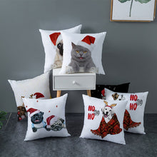 Load image into Gallery viewer, Christmas Dog Cushion Covers Pillow Covers for Home Decoration