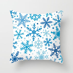Christmas, Snow and Winter Pillow Covers for Home Decoration