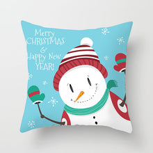 Load image into Gallery viewer, Christmas, Snow and Winter Pillow Covers for Home Decoration