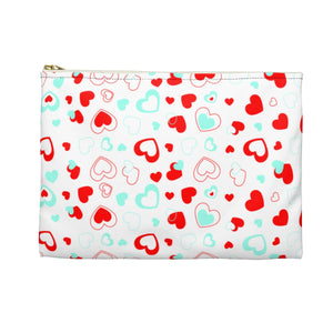 Love Hearts Accessory Pouch