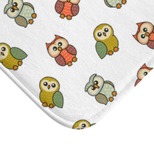 Load image into Gallery viewer, Cute Owls Bathroom Mat