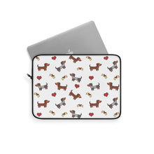 Load image into Gallery viewer, Adorable Dachshund Laptop Sleeve