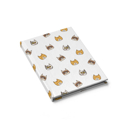 Cute Cats Hardcover Notebook