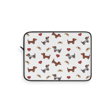 Load image into Gallery viewer, Adorable Dachshund Doxie Dog Laptop Sleeve
