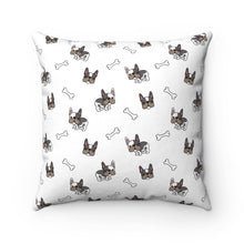 Load image into Gallery viewer, Frenchie Pug Square Pillow Case