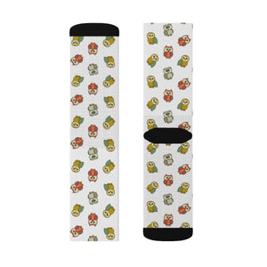 Cute Owls Sublimation Socks