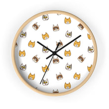 Load image into Gallery viewer, Cute Cats Kitty Wall Clock