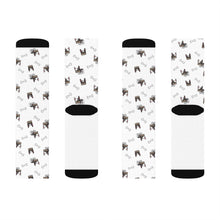 Load image into Gallery viewer, French Bulldog Pug Sublimation Socks
