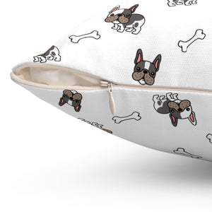 Frenchie Pug Square Pillow Case