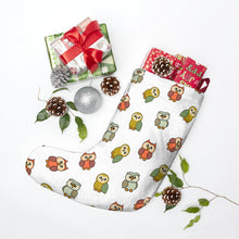 Load image into Gallery viewer, Cute Owls Christmas Stockings
