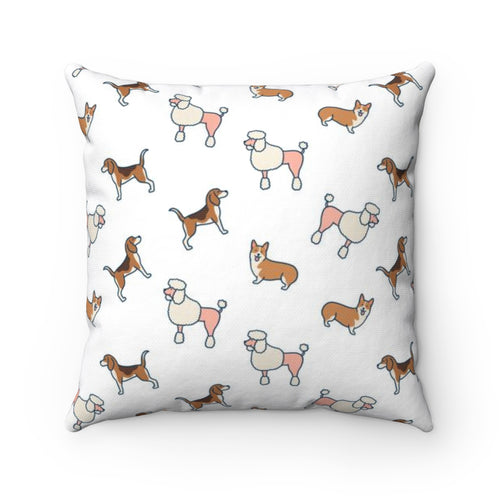 Lovely Dogs Pillow Cover Case