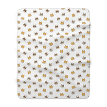 Load image into Gallery viewer, Cute Cats Sherpa Fleece Blanket