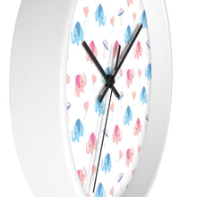 Load image into Gallery viewer, Lovely Elephants Wall clock