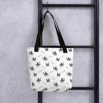 French Bulldog Pug Totebag