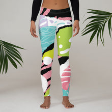 Load image into Gallery viewer, Pink Nature Leggings