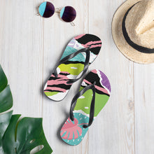 Load image into Gallery viewer, Pink Nature Flip-Flops Sandals