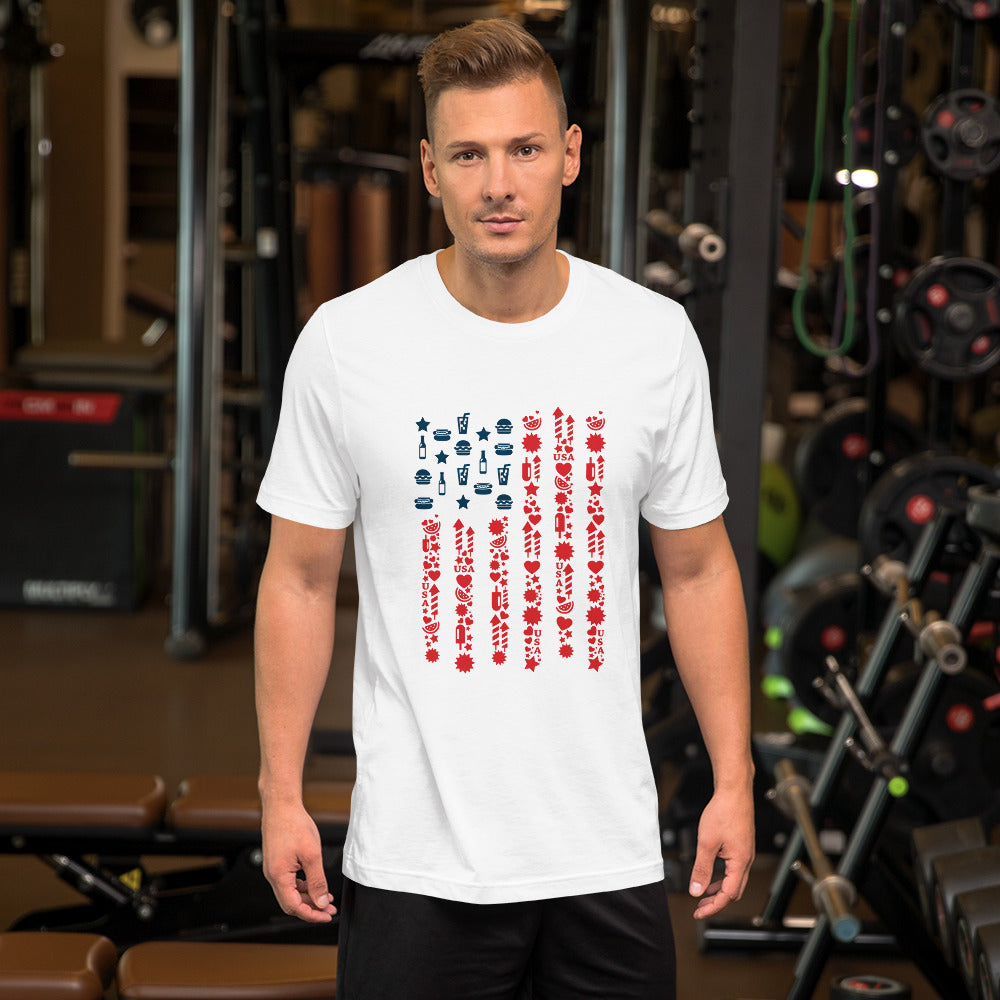 4th of July Independence Unisex T-shirt